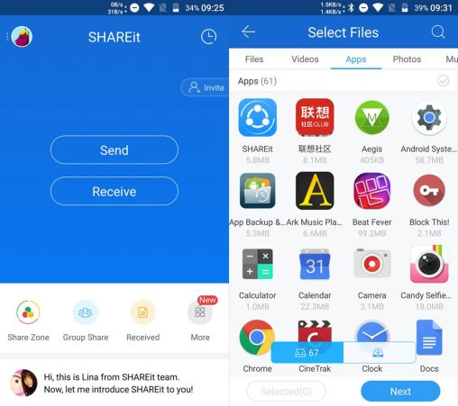 SHAREit APK for Android Crack can leave your old Bluetooth behind and hop on the quicker mode with the SHAREit for android. This application can be named as the undisputed ruler of the record sharing element telephone to telephone or telephone to pc remotely that is.