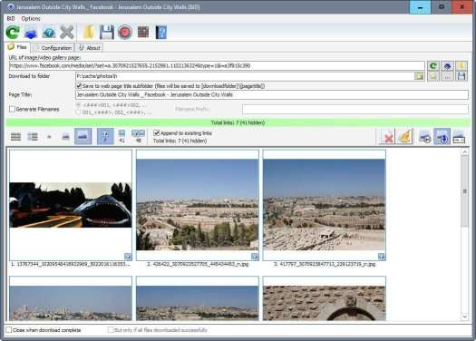 Bulk Image Downloader Crackis the most powerful application that allows users to download high-quality images of any size from different Web forums and sites.