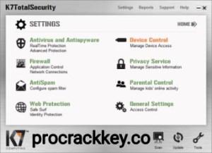 K7  Total Security 16.0.0449 Crack