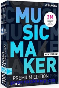 MAGIX Music Maker Premium 29.0.3.21 Crack + Serial Key Free Download 2021