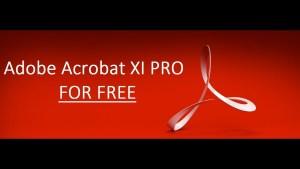 Adobe Acrobat XI Pro 2017