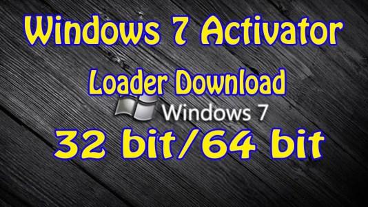 Windows 7 Activator Full Download 32 & 64 bit