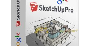 Google SketchUp Pro 2018 Crack Full Serial Number Free