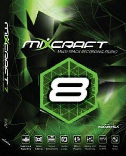 Mixcraft 8 Pro Studio Crack Full For Windows 7, 8, 8.1