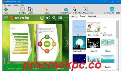 Next FlipBook Maker Pro 2.7.13 Crack + License Key Full Download 2021
