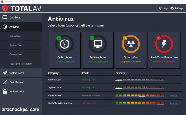 Total AV Antivirus Serial Key