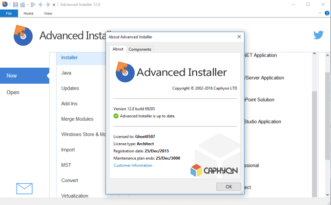 Advanced Installer Architect With Serial Key