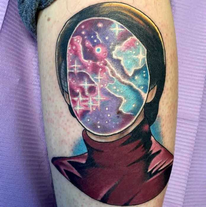 Carl Sagan Tattoo