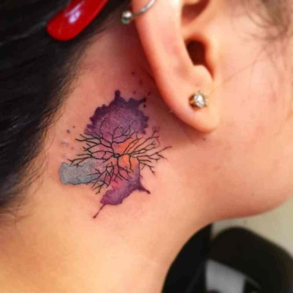 Tatuaje neurona, neuron tattoo
