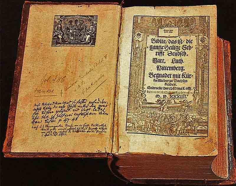 Traduccion biblia del aleman por Lutero