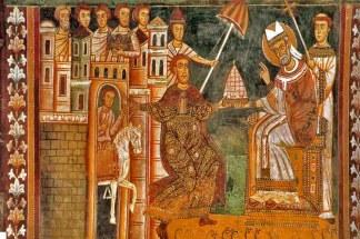 Papa y Constantino I