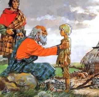Mitología Celta mitos de las calaveras
