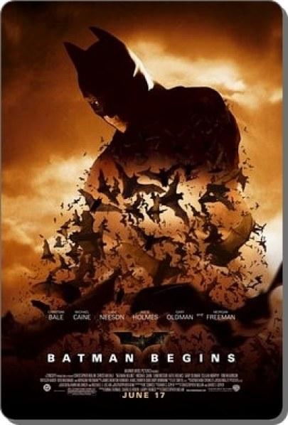 Batman Begins-cartel promocional