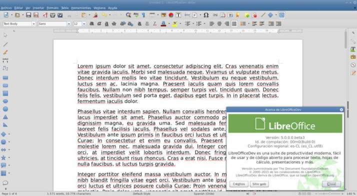 libreoffice writer 5