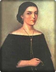 Manuela Saenz-retrato circa 1820