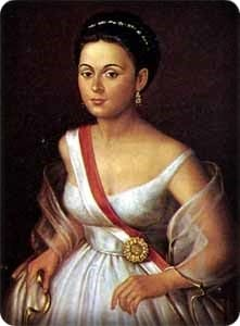 Manuela Saenz-retrato por Marcos Salas