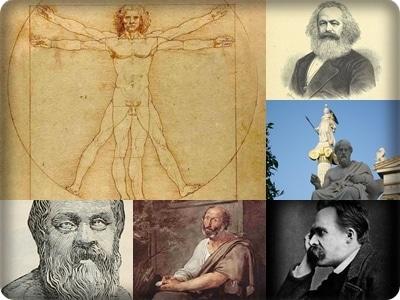 el hombre segun filosofos