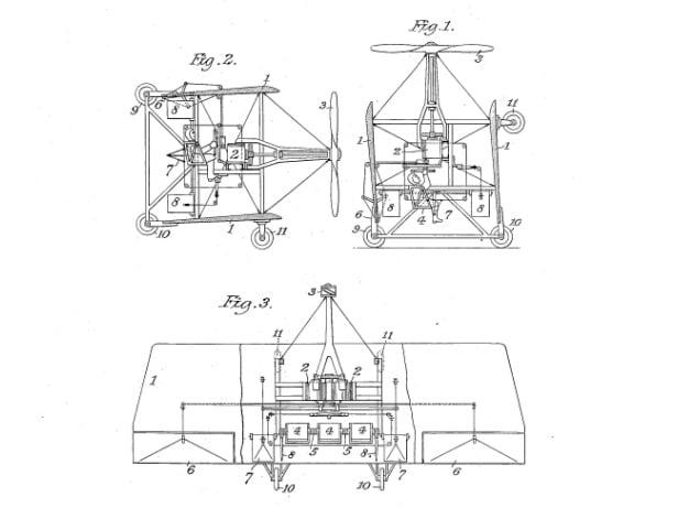 Método de transporte aéreo creado por tesla