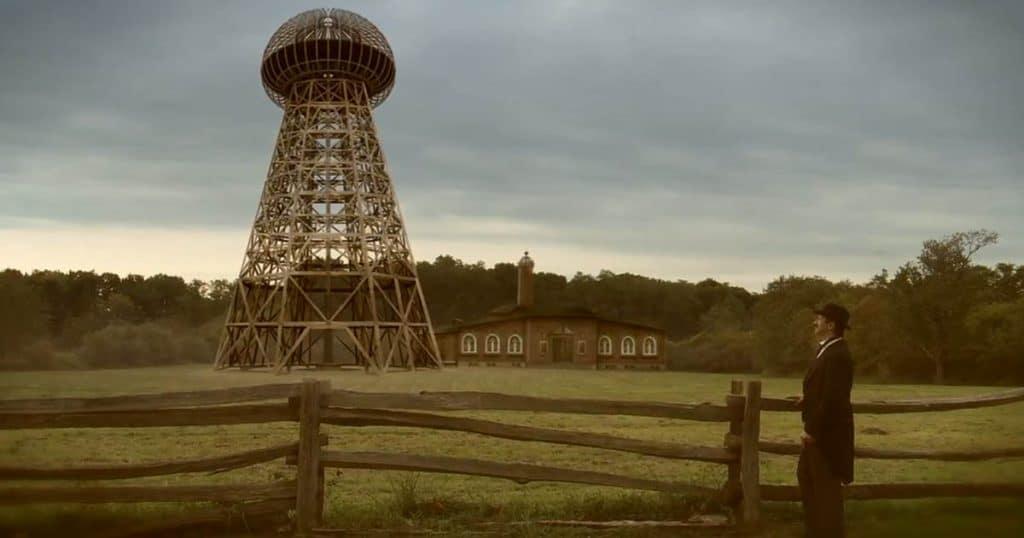 Forma de la Torre Wardenclyffe de nikola tesla