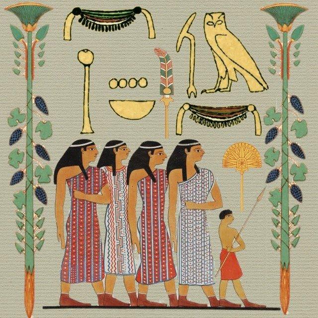 Ejemplo de Arte egipcio