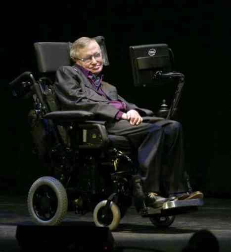 Stephen Hawking y sus sistema de comunicación
