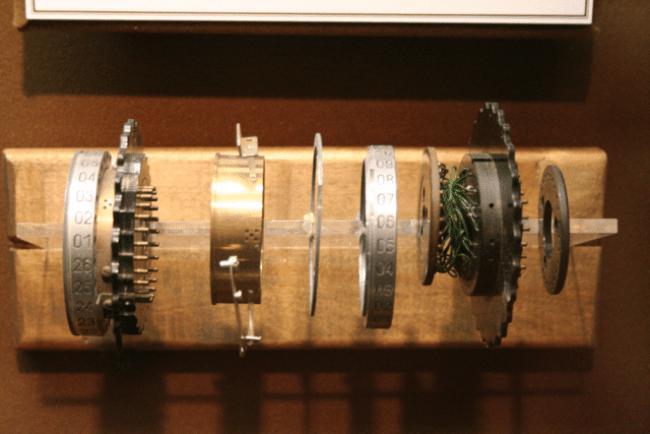 rotores electromecanicos de enigma