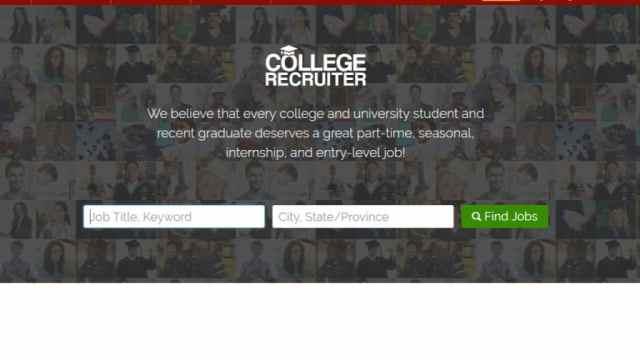 College recruiter para estudiantes