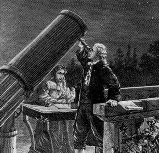 La noche que se descubrió Urano