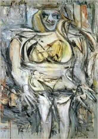 women 3 of Willem de Kooning