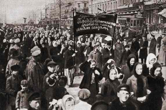 dia de la mujer revolucion rusa