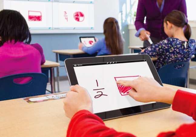 tablets en las escuelas