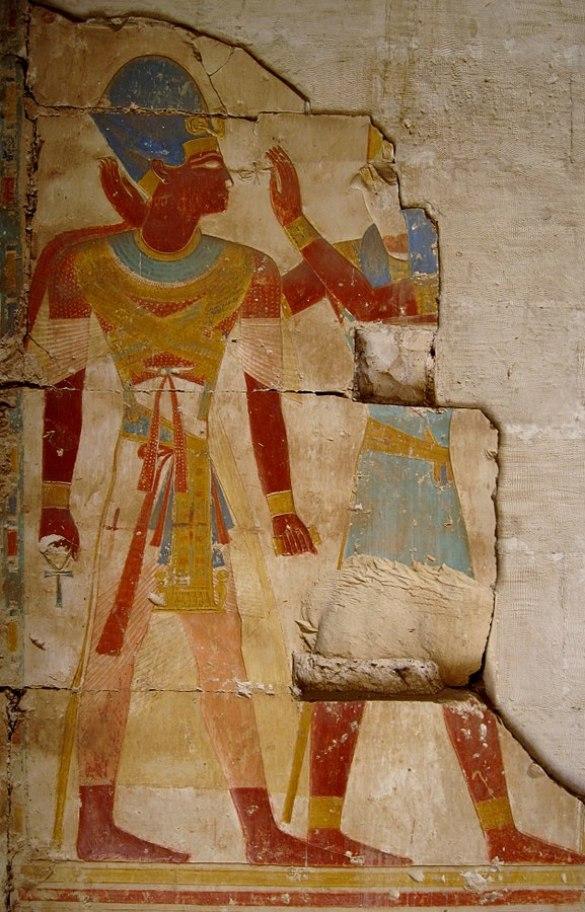 ramses II y la princesa de Bakhta