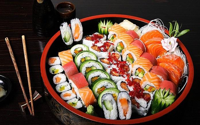 Sushi Japón Cocina