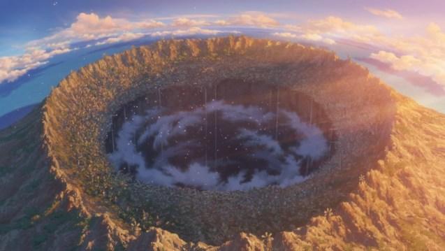 vista aerea del abismo Made in abyss