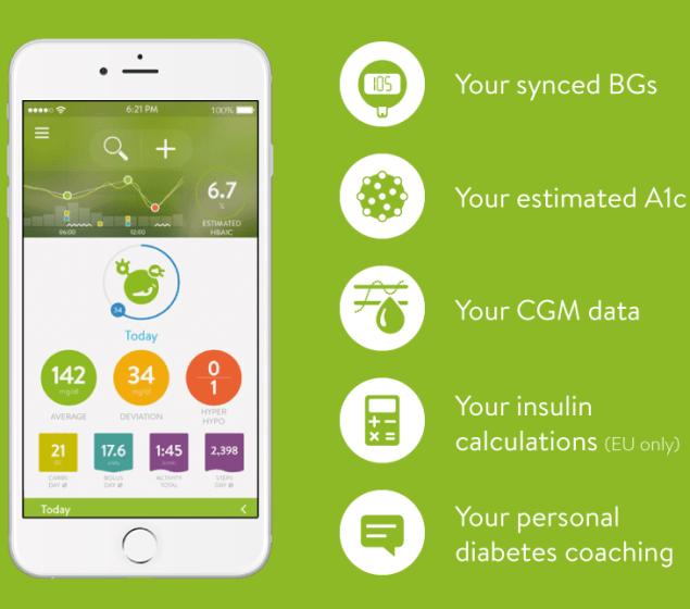 aplicaciones para diabeticos