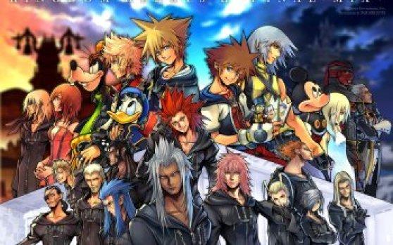 Personajes kingdom hearts