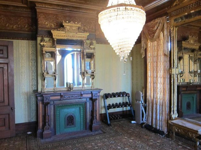 interior de la mansion Kreischer