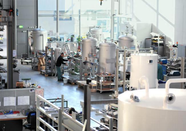 sistema de inyección de quimicos