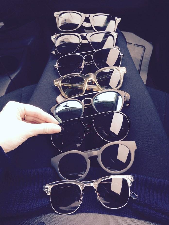 gafas de sol casuales