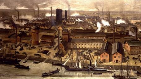 Los relojes y la revolucion industrial
