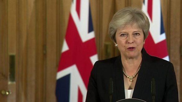 actual primer ministra britanica