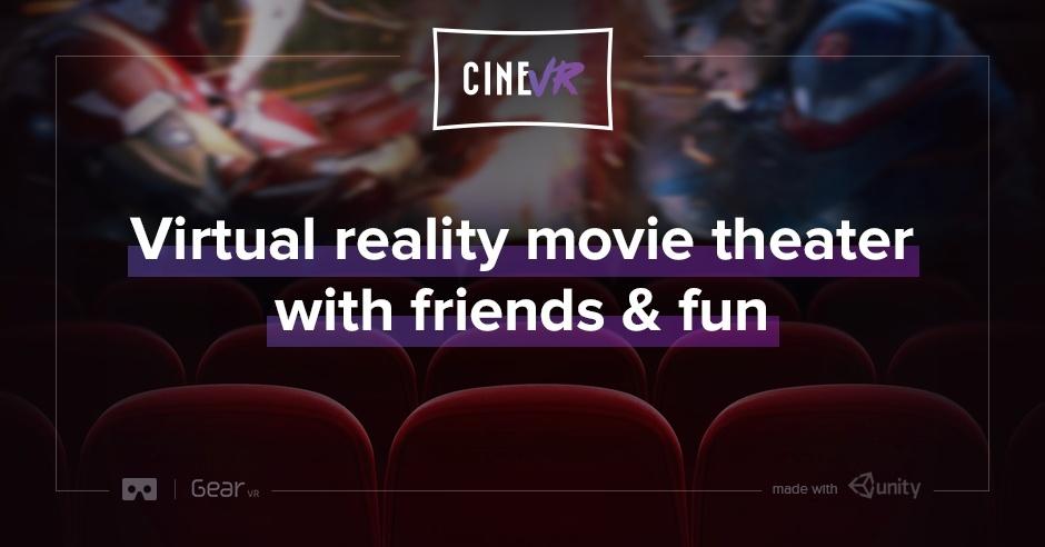 aplicaciones de cine en realidad virtual