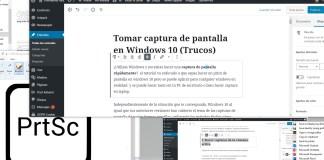 hacer una captura en windows 10
