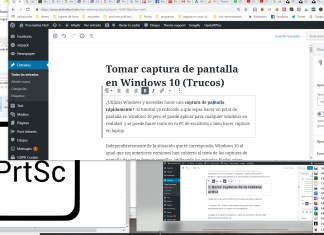 hacer una captura en windows 10