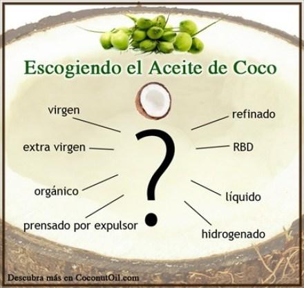 cómo elegir el aceite de coco