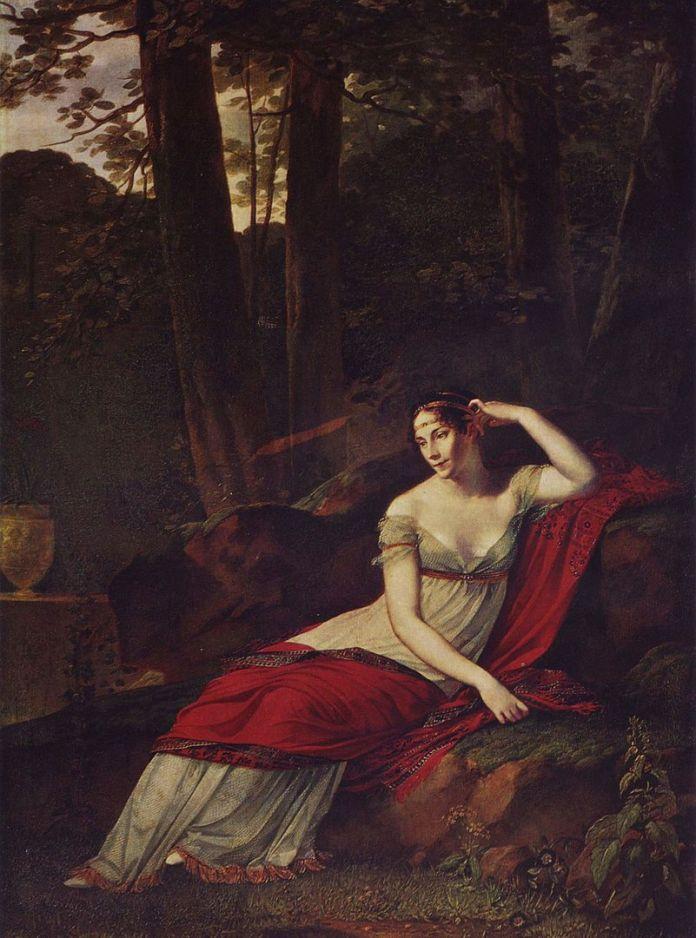 Retrato de Josephine de Beauharnais