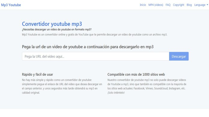 mp3 Youtube un excelente convertidor de Vídeo
