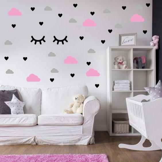 pared de corazones 41