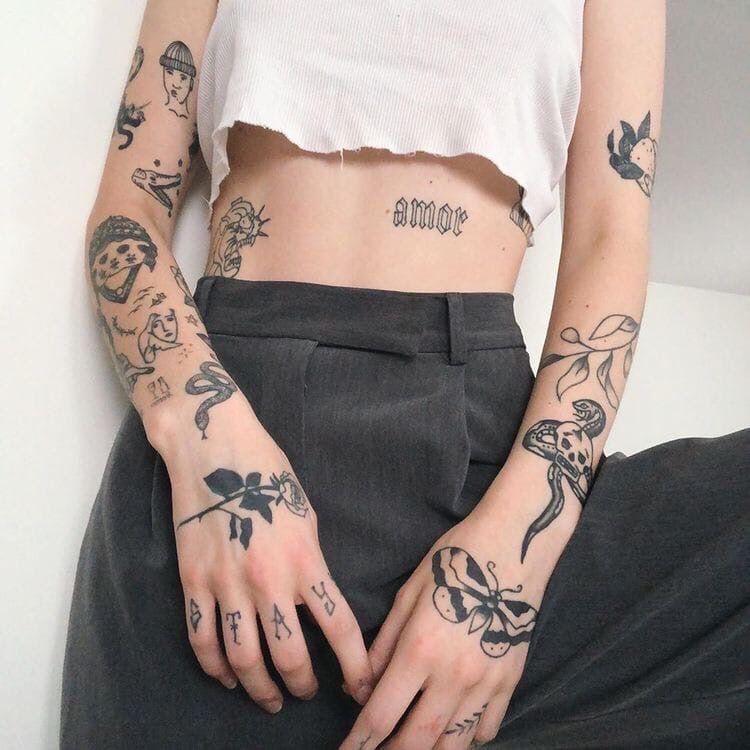 Tatuajes Aesthetic 14