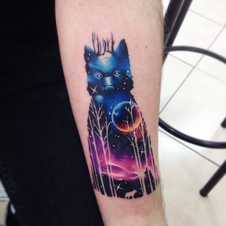 Tatuajes coloridos 40